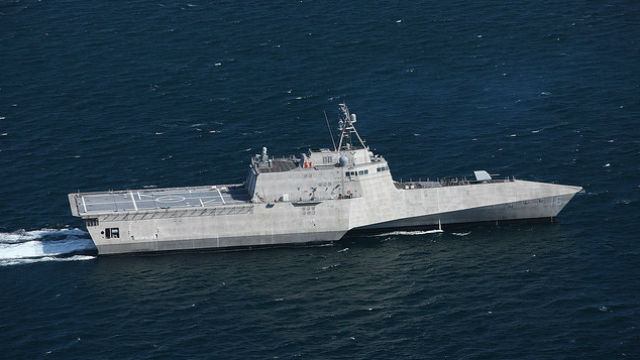 The future USS Tulsa