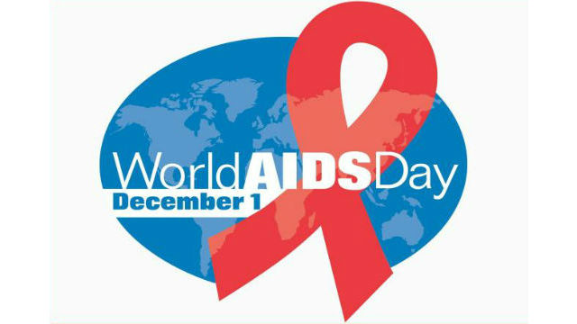 The logo for World AIDS Day 2018