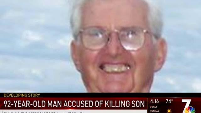 Richard Peck, suspect in slaying on son Robert.