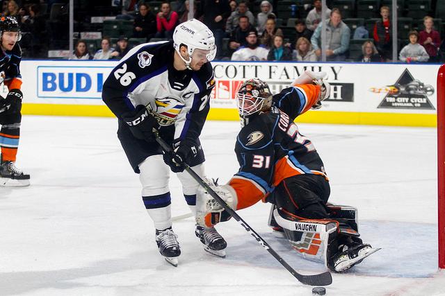 ECHL: San Diego Gulls Get Shut Out In Colorado