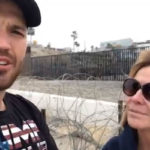 Ben Bergquam and Mary Anne Mendoza at the border