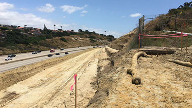 Carpool lane construction