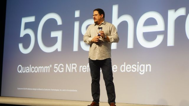 Christiano Amon announces the Snapdragon 855 Mobile Platform