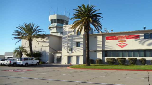 Control tower at Miramar