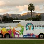 Covered California enrollment bus