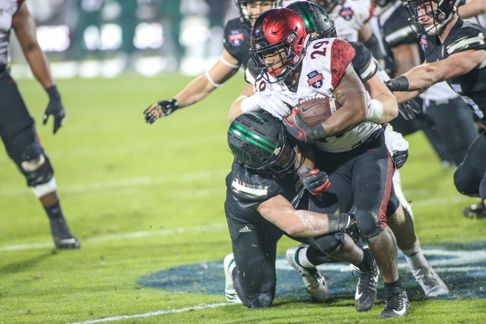 Juwan Washington, Aztecs football, Frisco Bowl