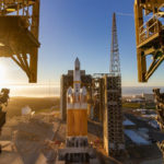 Delta IV Heavy on the launch pad