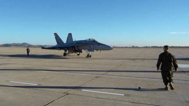 Marine F-18 at Miramar