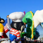Holiday Bowl parade balloons