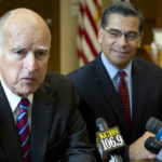 Gov. Jerry Brown and Atty. Gen. Xavier Becerra