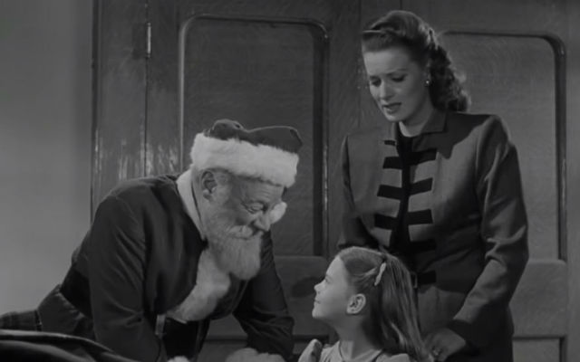 "A scene from ""Miracle on 34th Street"""
