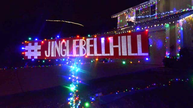 Jingle Bell Hill is at Pepper Drive, Solomon Avenue, Pegeen Place and  surrounding streets - Visit San Diego County's Top Decked-Out Christmas Neighborhoods