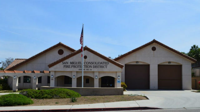 A San Miguel Fire & Rescue station