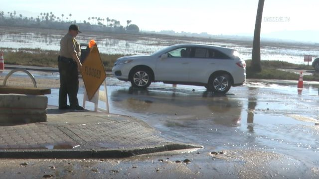 Flooding on Seacoast Boulevard