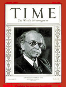 Franz Boas on the cover of Time