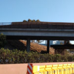 Girders for trolley bridge construction
