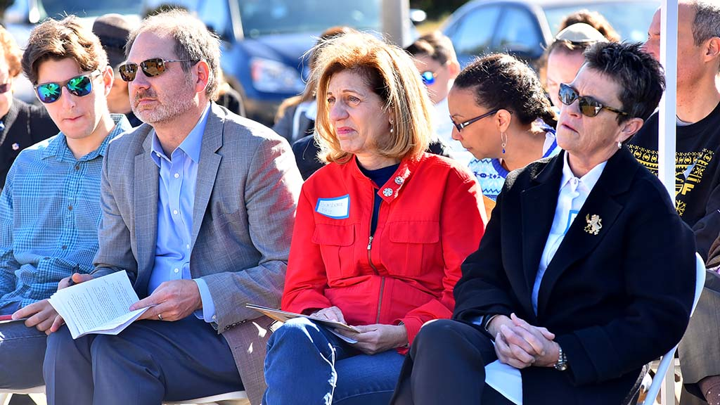 San Diego City Councilman Barbara Bry (center) has been a longtime supporter of the project.