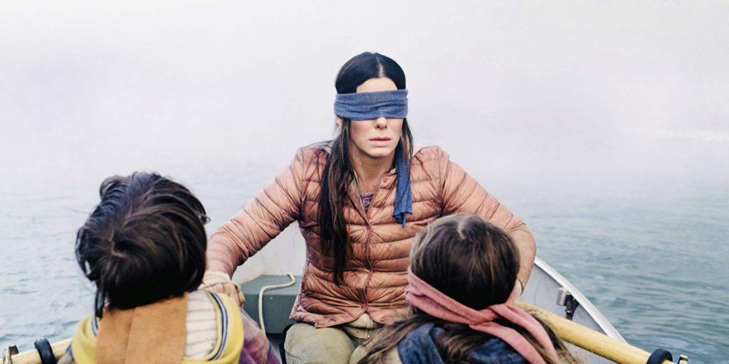 Bird Box - Netflix - Sandra Bullock