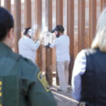 Dedication of a steel border fence in Calexico in October