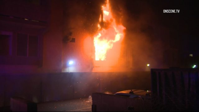 Carlsbad apartment fire