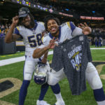 NFC Championship Game - Rams at Saints