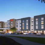 Rendering of Hampton Inn