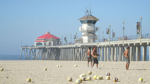 Pier in Huntington Beach