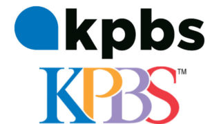 New and old KPBS logos