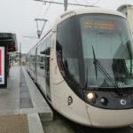 Modern tram in Le Havre