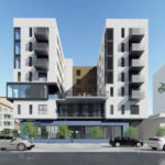 Rendering of affordable housing project