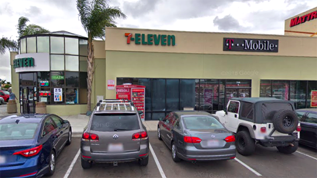 7-Eleven on Sports Arena Boulevard.