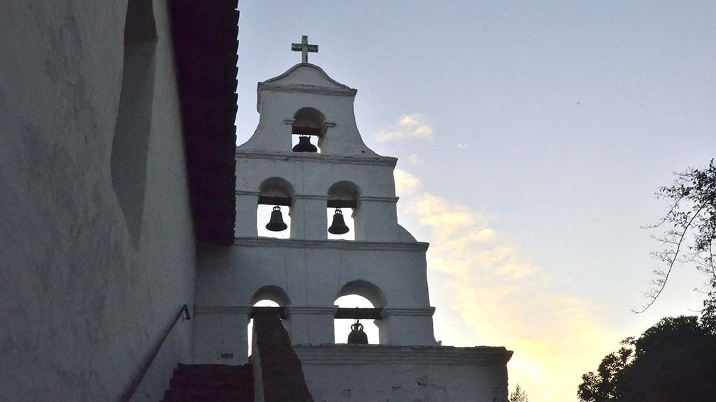 Mission San Diego de Alcala is California's first church.