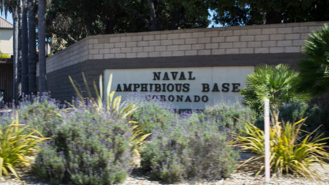 Entrance to Naval Amphibious Base