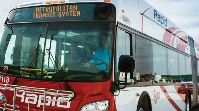 A Rapid bus
