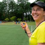 Carmen Jackinsky also coaches for a living in the Portland, Oregon, area.