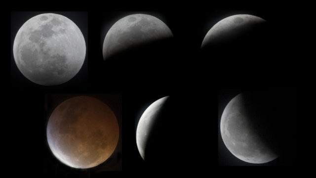 The Jan. 20,2019 Super Blood Wolf Moon could be seen in San Diego despite widespread clouds.