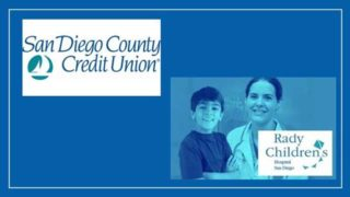 San Diego County Credit Union toy drive.