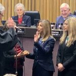 Summer Stephan is sworn in as San Diego County district attorney. I