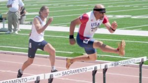 Thad Wilson of Oxnard shown at Sacramento world masters meet in 2011, is taking the travel subsidy.