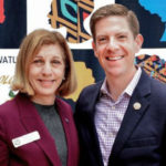 Barbara Bry and Mike Levin