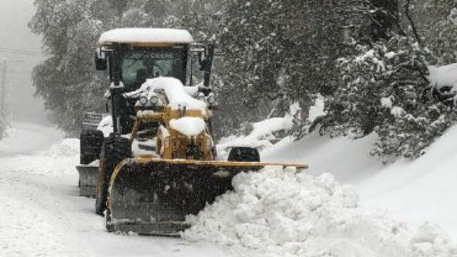 Caltrans snowplow