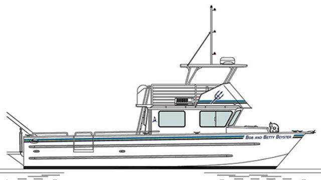 Rendering of the R/V Bob and Betty Beyster