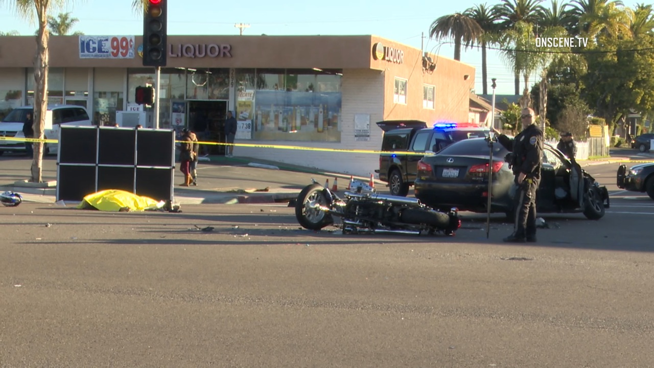 Motorcyclist Killed in Chula Vista Crash - Times of San Diego