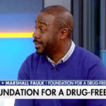"Former Aztecs running back and Hall of Famer Marshall Faulk appears on Fox News ""Fox & Friends."""