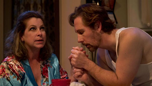 """eri Brown and Charles Peters in """"Frankie and Johnny in the Clair de Lune"""""""