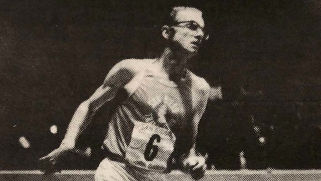 Bill Gookin took part in the 1973 San Diego Indoor Games at the Sports Arena
