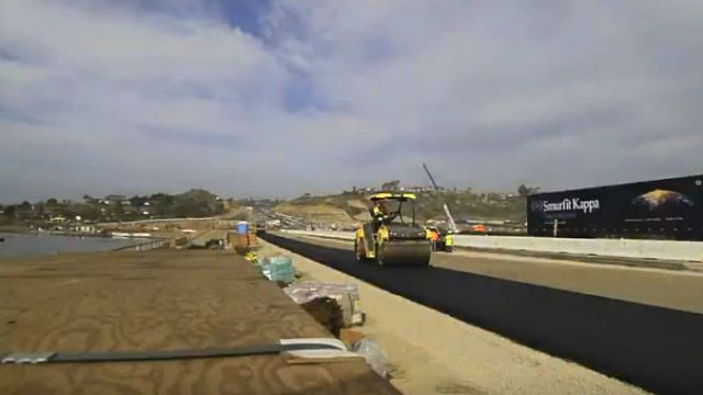 Construction along Interstate 5