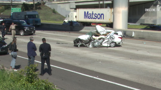 1 Dead in Crash on Interstate 5 in Downtown San Diego - Times of San
