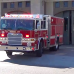 National City Fire Department engine.