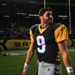 San Diego Fleet quarterback Philip Nelson completed his first whole game at SDCCU Stadium.